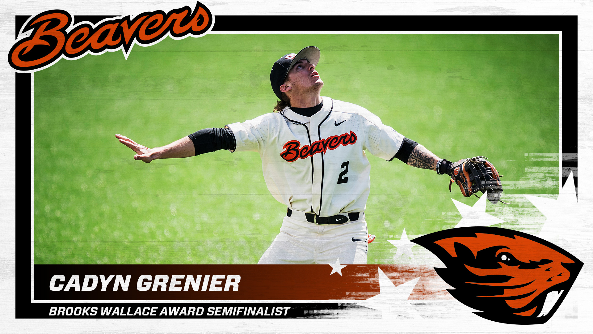 Cadyn Grenier Named A Semifinalist For Brooks Wallace Award