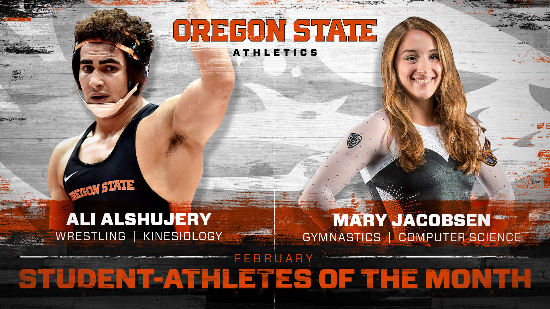 Alshujery and Jacobsen Honored as Student-Athletes of the