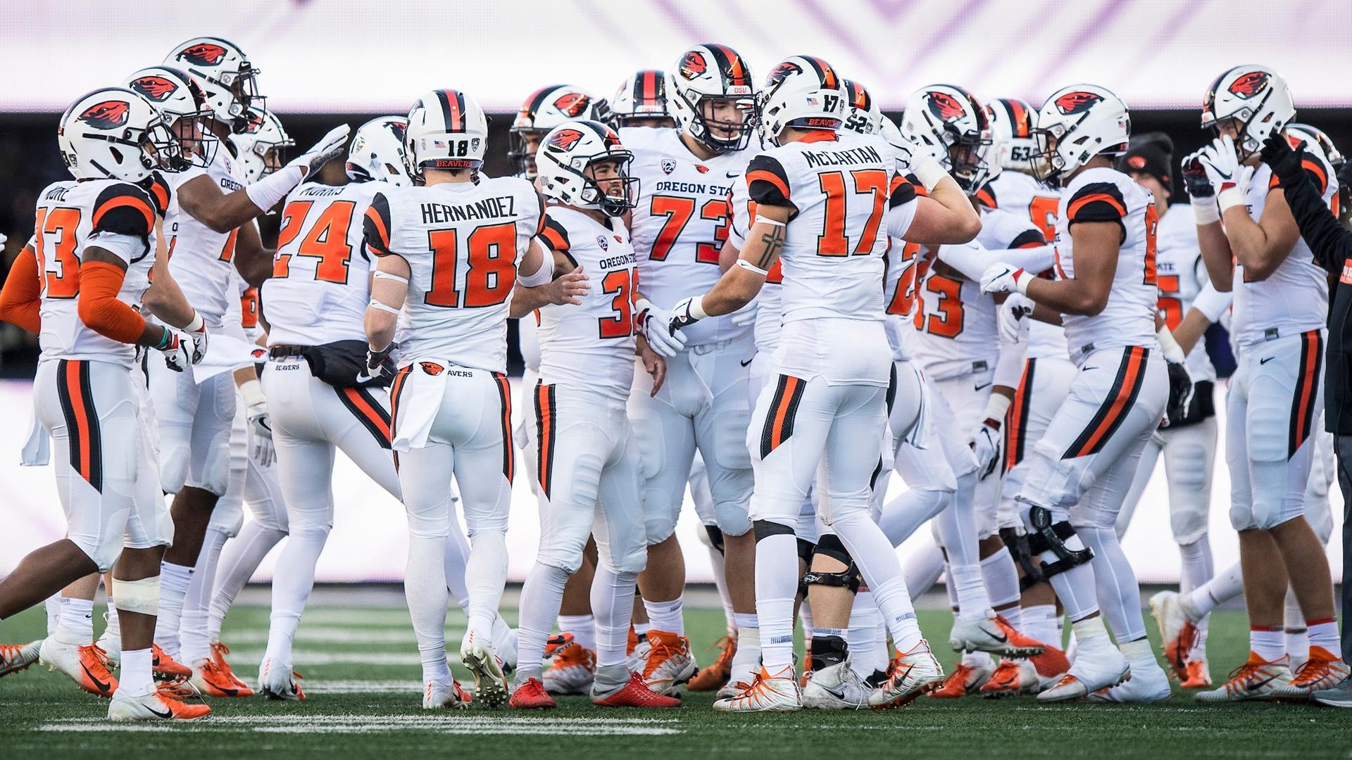 Beavers Ready For #CivilWar Matchup Friday - Oregon State University