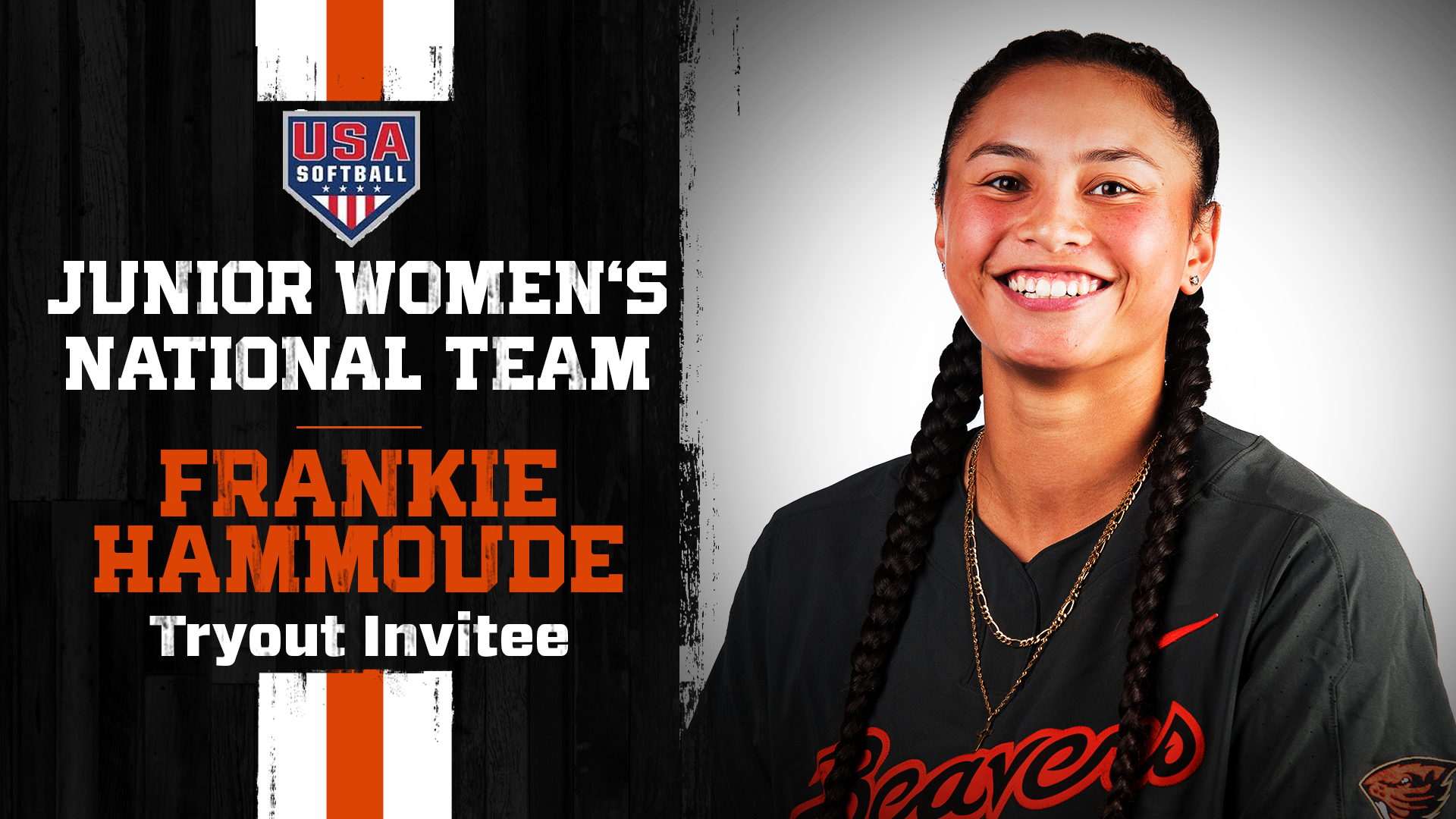 Frankie Hammoude Invited to Tryout for USA Softball Junior