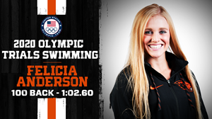 Felicia Anderson qualifies for a Olympic Trial