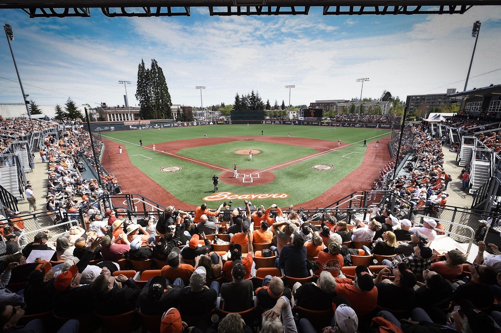 Goss Stadium At Coleman Field Facilities Oregon State