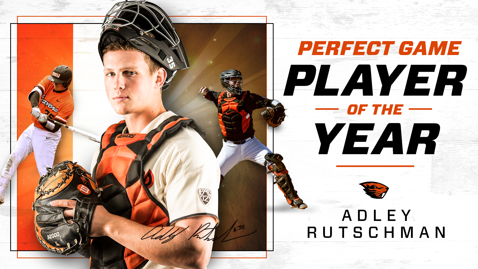 Rutschman Named Perfect Game's Top Player In 2019 - Oregon